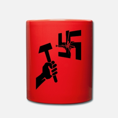 Nazi no nazi - Taza de un color
