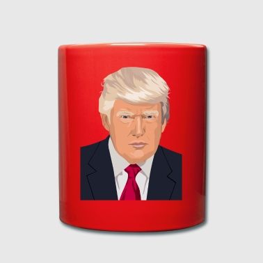 Donald Trump - Tazza monocolore