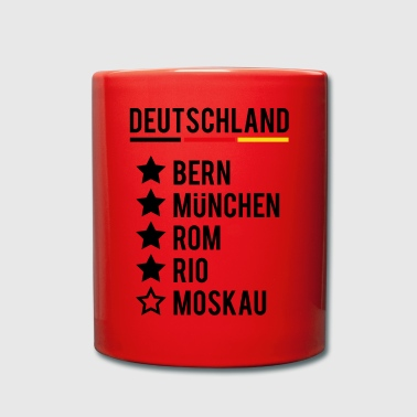 Sieg Football World Champion Germany Siege World Cup - Full Colour Mug