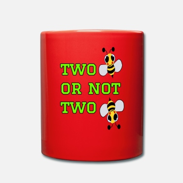Bee to bee or not to bee - Fleeting Bee - Full Colour Mug