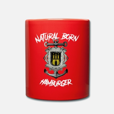Hamburg Port Natural Born Hamburger Silver - Mug
