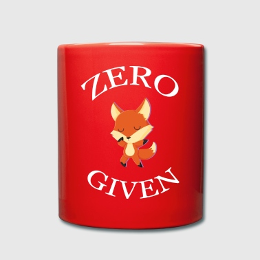 Zero Fox dado - Taza de un color