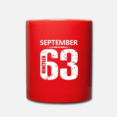 Jersey Number September 1963 Jersey Number - Full Colour Mug