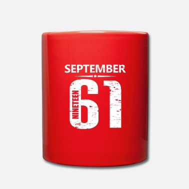 Jersey Number September 1961 Jersey Number - Full Colour Mug