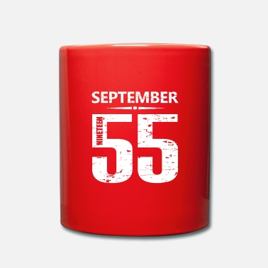 Jersey Number September 1955 Jersey Number - Full Colour Mug