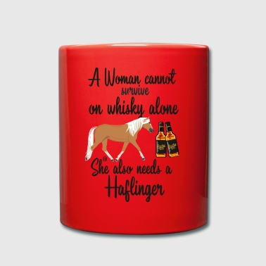 Whisky - Woman- Haflinger MP - Tasse einfarbig