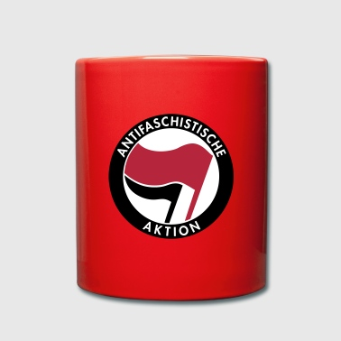 Antifaschistische Aktion - Tasse einfarbig