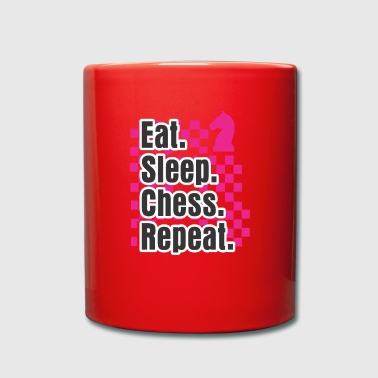 Maître Drôle Chess Design Eat Sleep Play Chess Repeat Gift - Mug uni