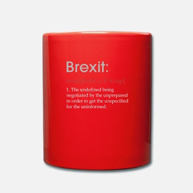 Brexit Apparel Funny Brexit defintion gift - Mug