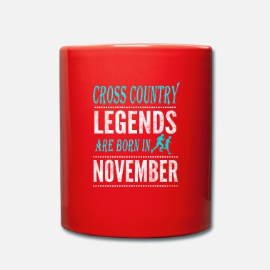 Vêtements De Ski De Fond Cross Country Legends naissent en novembre - Mug
