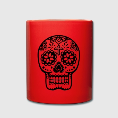 Calavera - Taza de un color