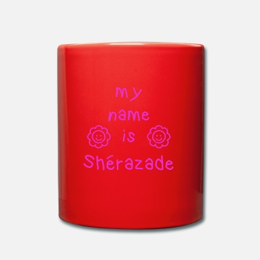 Sherazade MY NAME IS - Tazza monocolore