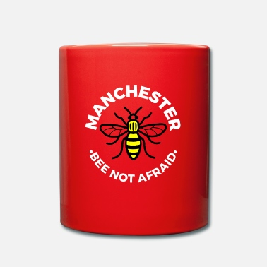 Manchester Manchester - Bee Not Afraid - Full Colour Mug