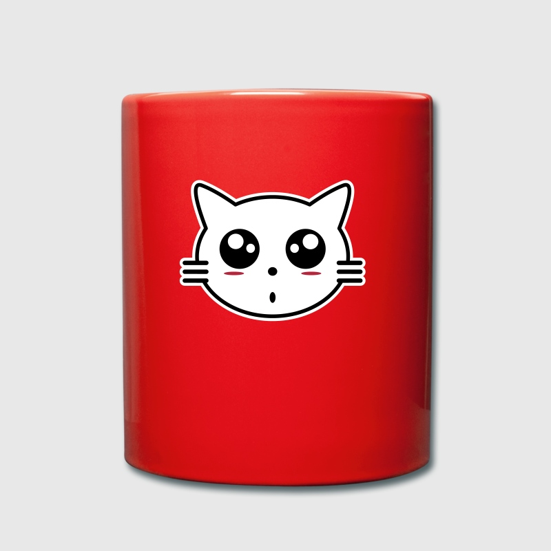 Manga Cat - Full Colour Mug