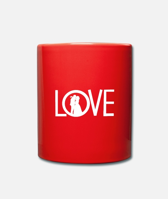 Heart Mugs & Drinkware - love - Mug red