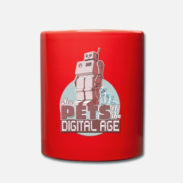 New Age New Pets of the Digital Age - Full Colour Mug