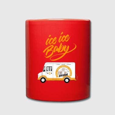 Ice Ice Truck - Ice Ice Baby - Full Colour Mug