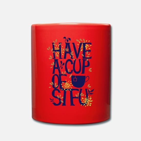 Collection Mugs & Drinkware - Have a Cup of SFTU - Take a cup - Mug red