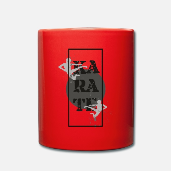 Karate Mugs & Drinkware - karate - Mug red