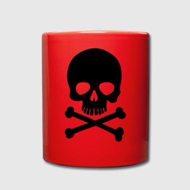 Pirate Skull - Trendy & Cool Skull - Tasse einfarbig