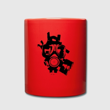 Gas mask - Full Colour Mug