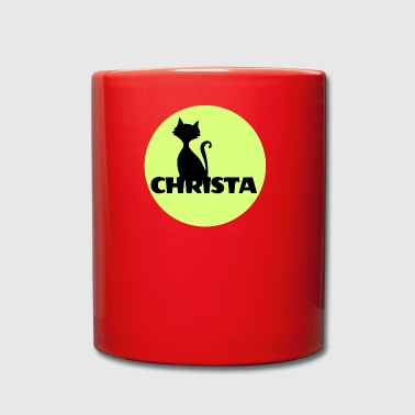 First Name Christa Name First name - Full Colour Mug