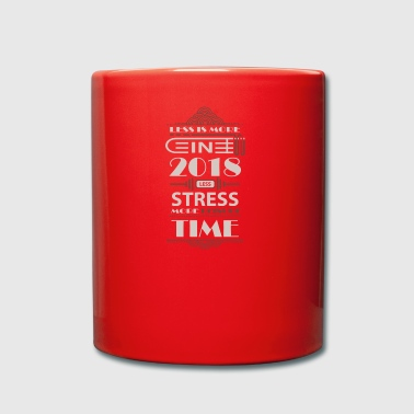 Good Resolution 2018 Stress Regeneration Gift - Full Colour Mug