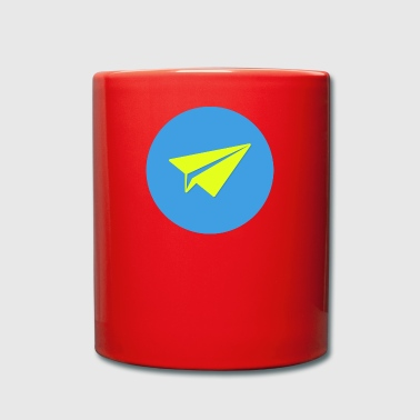 Paper origami paper plane paper airplane46 - Full Colour Mug