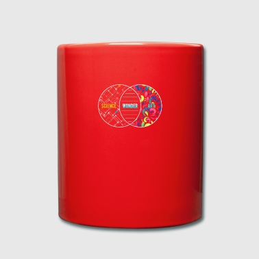 Regalo di cerchi sovrapposti di Science Wonder Art - Tazza monocolore