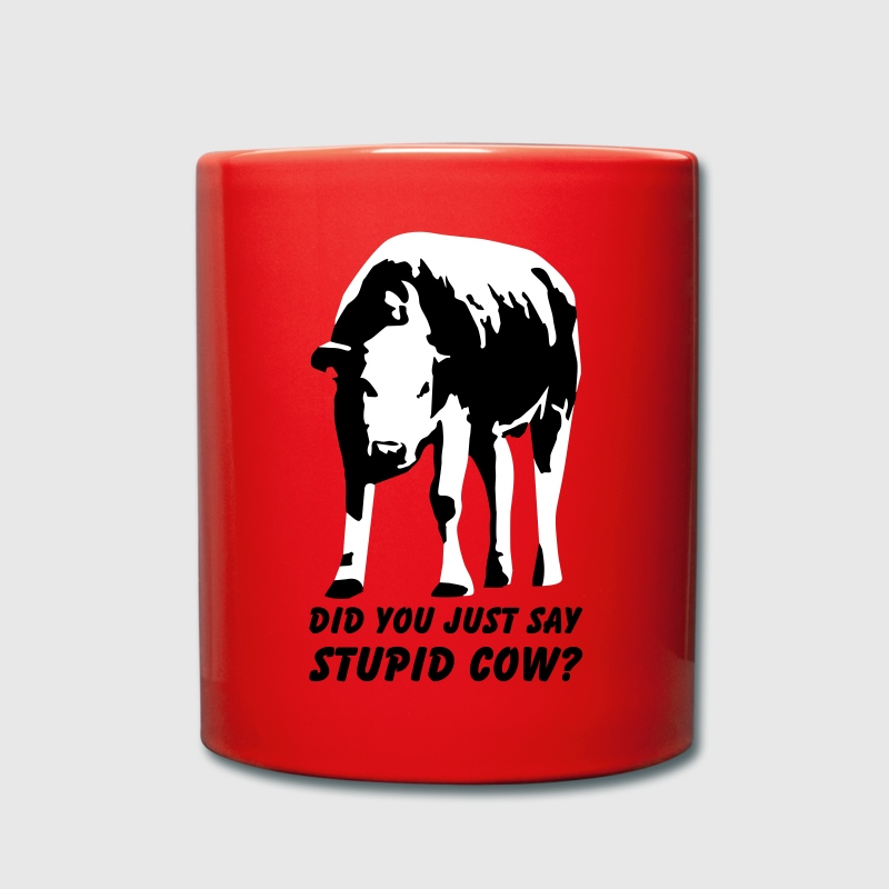 Stupid Cow? - Full Colour Mug