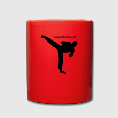 Kick Boxing kickboxer kick boxing kickboxing motivation - Full Colour Mug