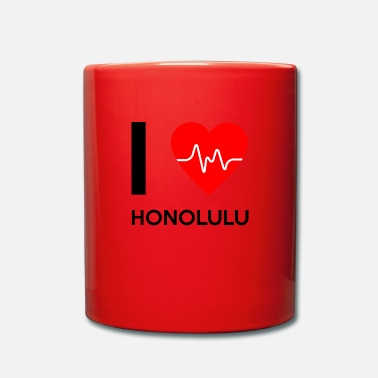 Honolulu Amo Honolulu - Amo Honolulu - Taza de un color