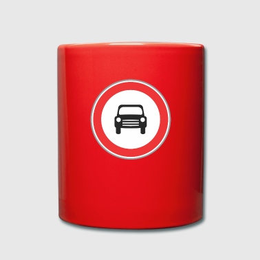 Road sign small sign - Full Colour Mug
