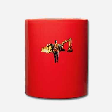 Digger Diggers and Dozers - Full Colour Mug