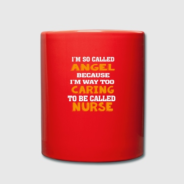 Angel Caring Nurse - Full Colour Mug