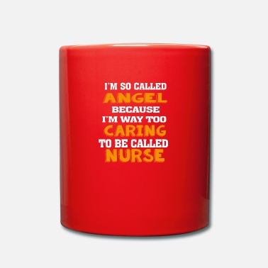 Nurse Angel Caring Nurse - Full Colour Mug