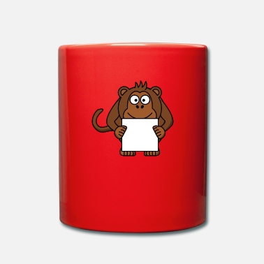 Collections Affen Collection - Tasse einfarbig