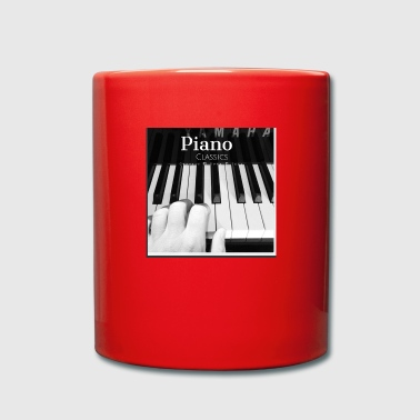 piano - Taza de un color