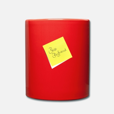 Note Clue yellow sticky note sticky note best friend - Full Colour Mug