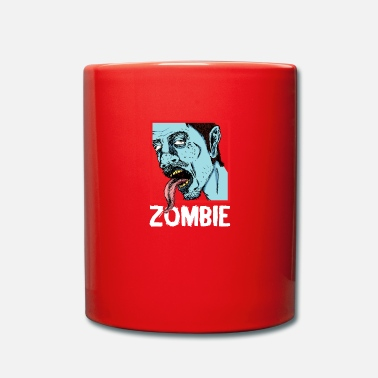 Zombie Zombie zombies - Full Colour Mug