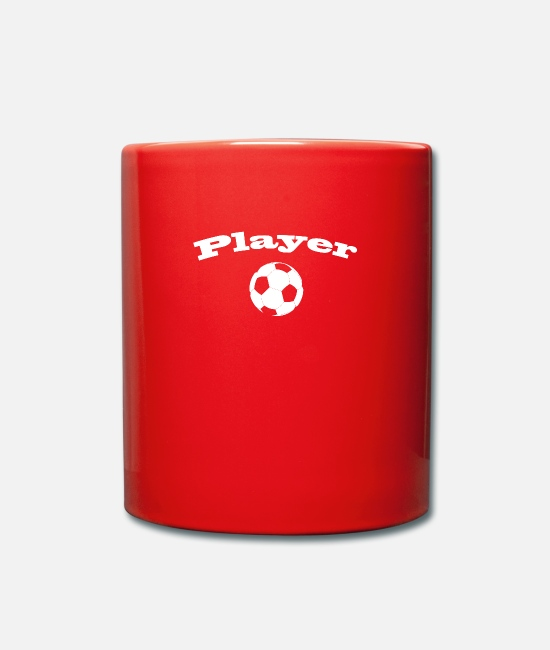 Quote Mugs & Drinkware - Player - Mug red