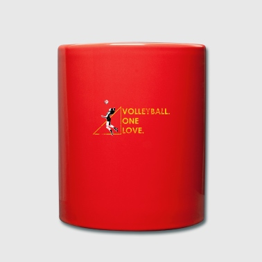 Volleyball Gift Beach Volleyball Volleyballer - Full Colour Mug