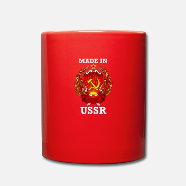 Urss Made in URSS bianco - Tazza monocolore