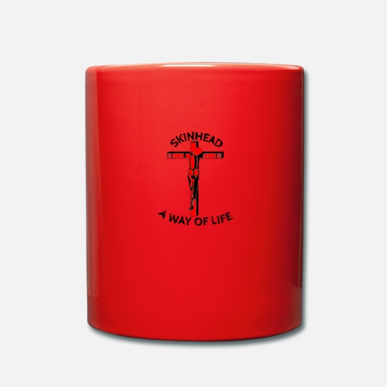 Antifascist Mugs & Drinkware - WayOfLIfe - Mug red