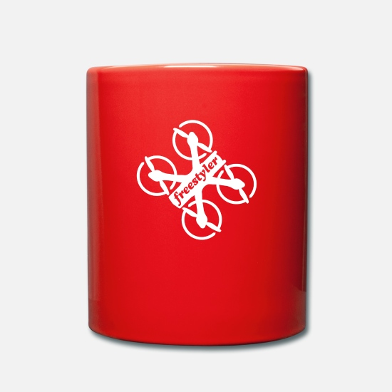 Freestyle Mugs et récipients - Drone Freestyle Freestyler Multicopter - Mug rouge