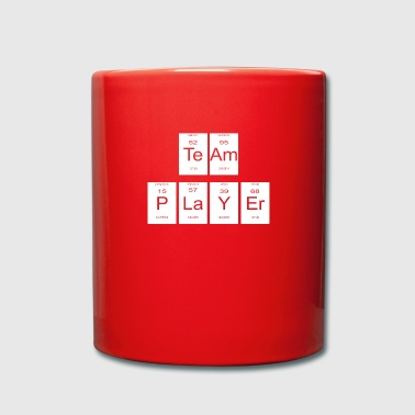 teamplayer periodic table nerd gift - Full Colour Mug