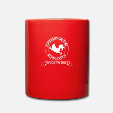 Mismanagement Funny – Headless Chicken Corporation - Mug