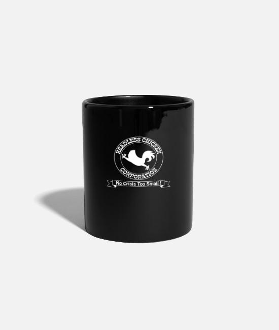 Chaos Mugs & Drinkware - Funny – Headless Chicken Corporation - Mug black