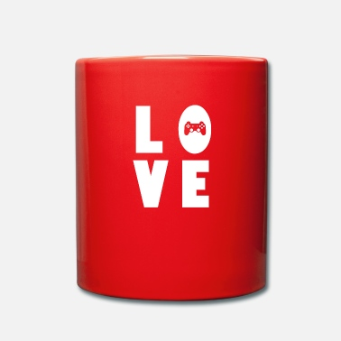 Computergame Gaming love Computergames zocken Geschenk - Tasse