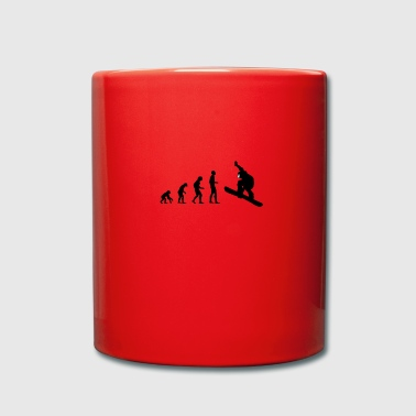 Snowboard Evolution - Full Colour Mug